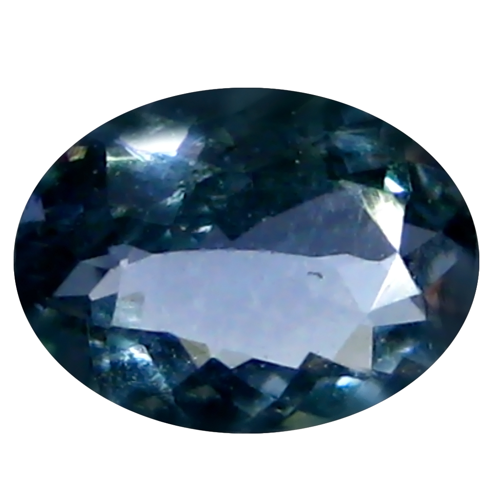 0.71 ct AAA Outstanding Oval Shape (7 x 5 mm) Bluish Violet Tanzanite Natural Gemstone