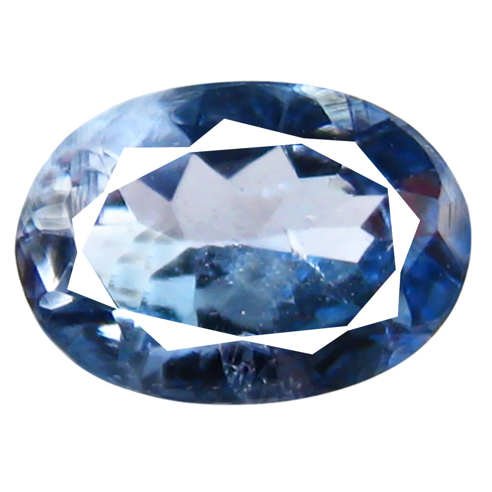 0.73 ct Fair Oval Shape (7 x 5 mm) Bluish Violet Tanzanite Genuine Stone