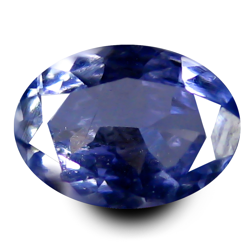 0.61 ct AAA Outstanding Oval Shape (7 x 5 mm) Bluish Violet Tanzanite Natural Gemstone