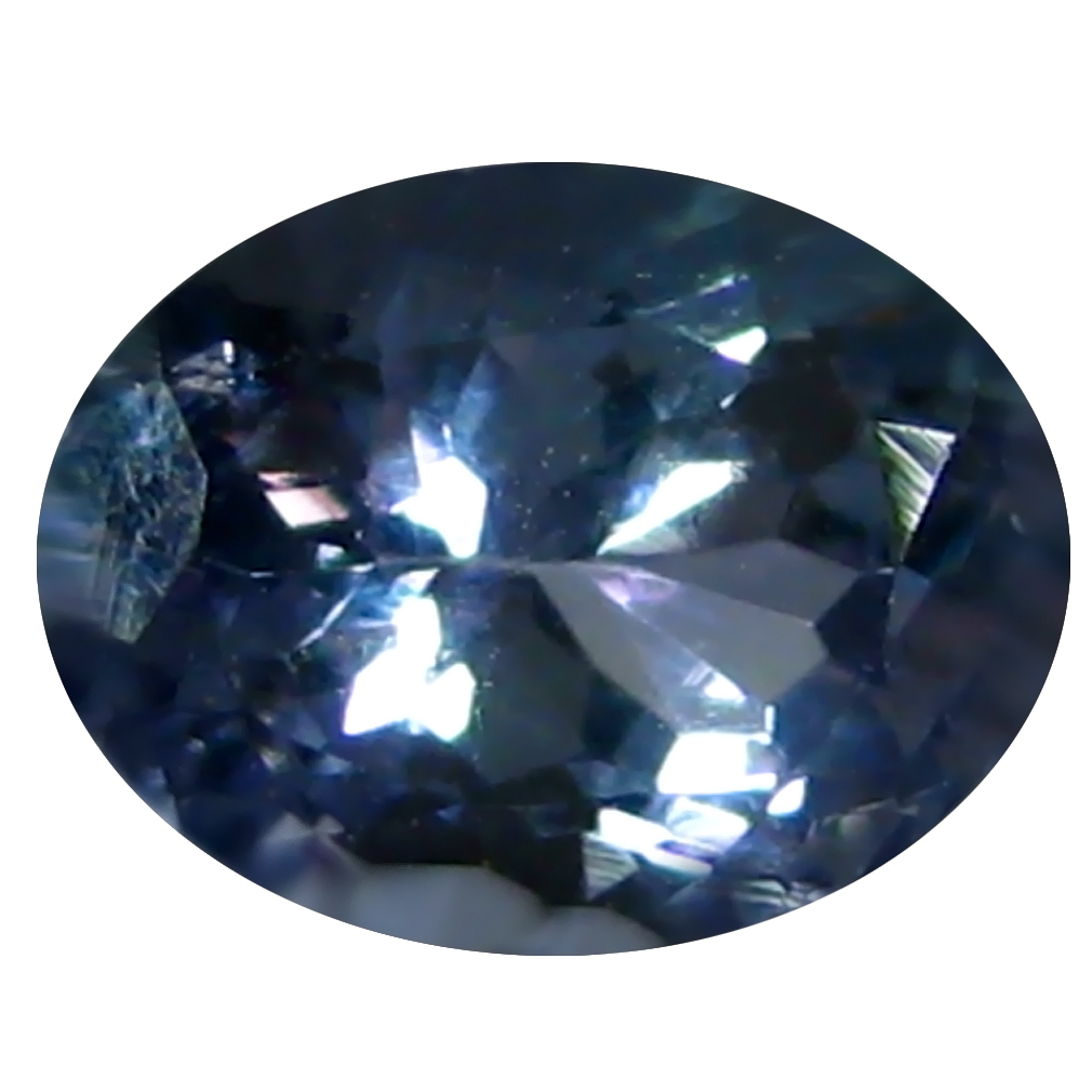 0.82 ct AAA Incredible Oval Shape (6 x 5 mm) Bluish Violet Tanzanite Natural Gemstone