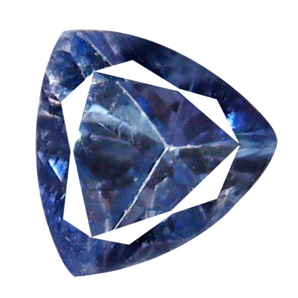 0.85 ct AAA Pleasant Trillion Shape (6 x 7 mm) Greenish Blue Tanzanite Natural Gemstone