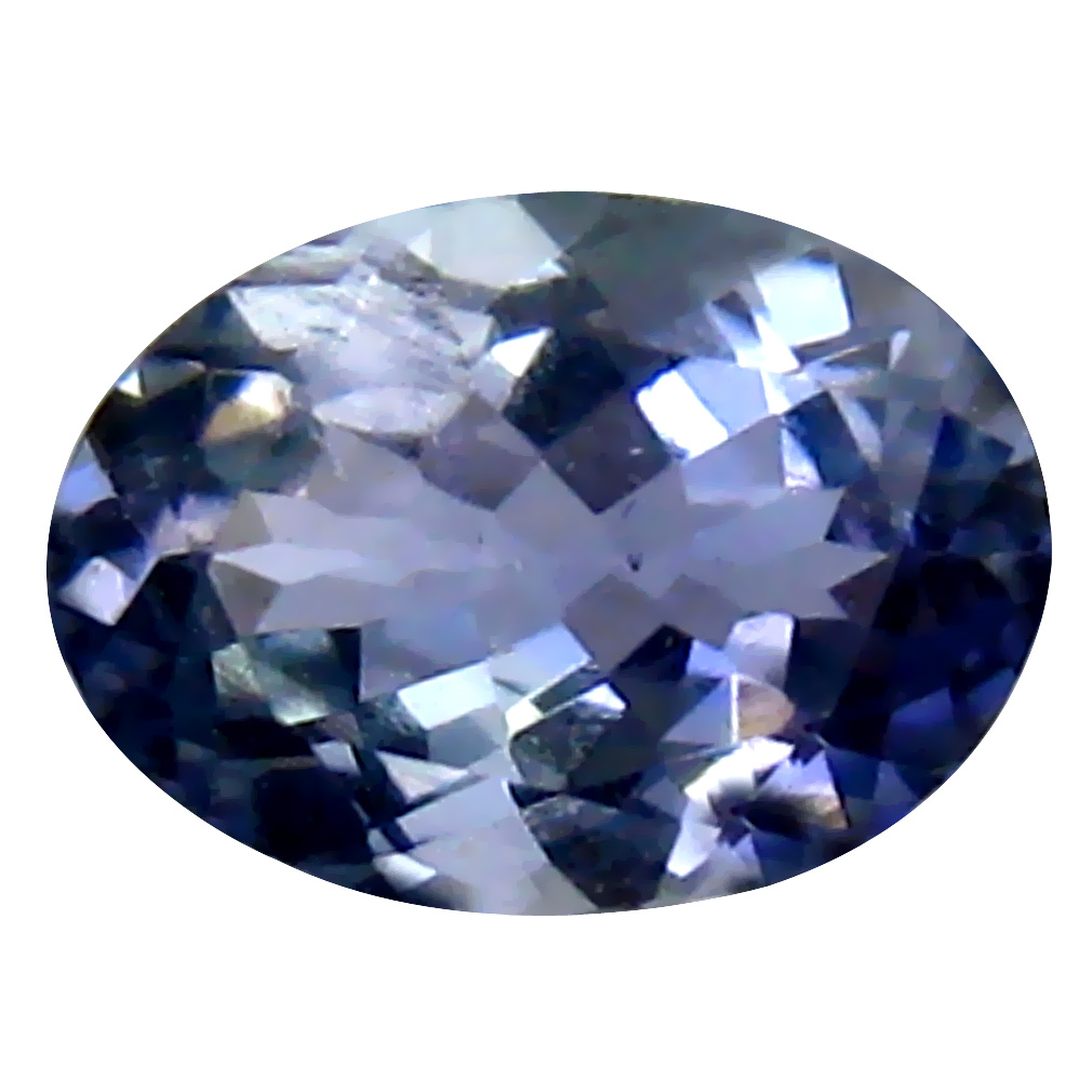 0.74 ct Attractive Oval Cut (7 x 5 mm) Tanzanian Bluish Violet Tanzanite Loose Gemstone