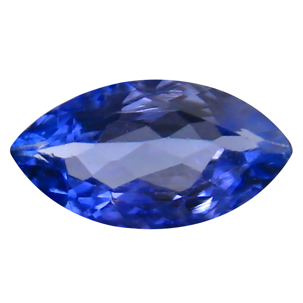 0.38 ct AAA Eye-opening Marquise Cut (7 x 4 mm) Bluish Violet Tanzanite Natural Gemstone