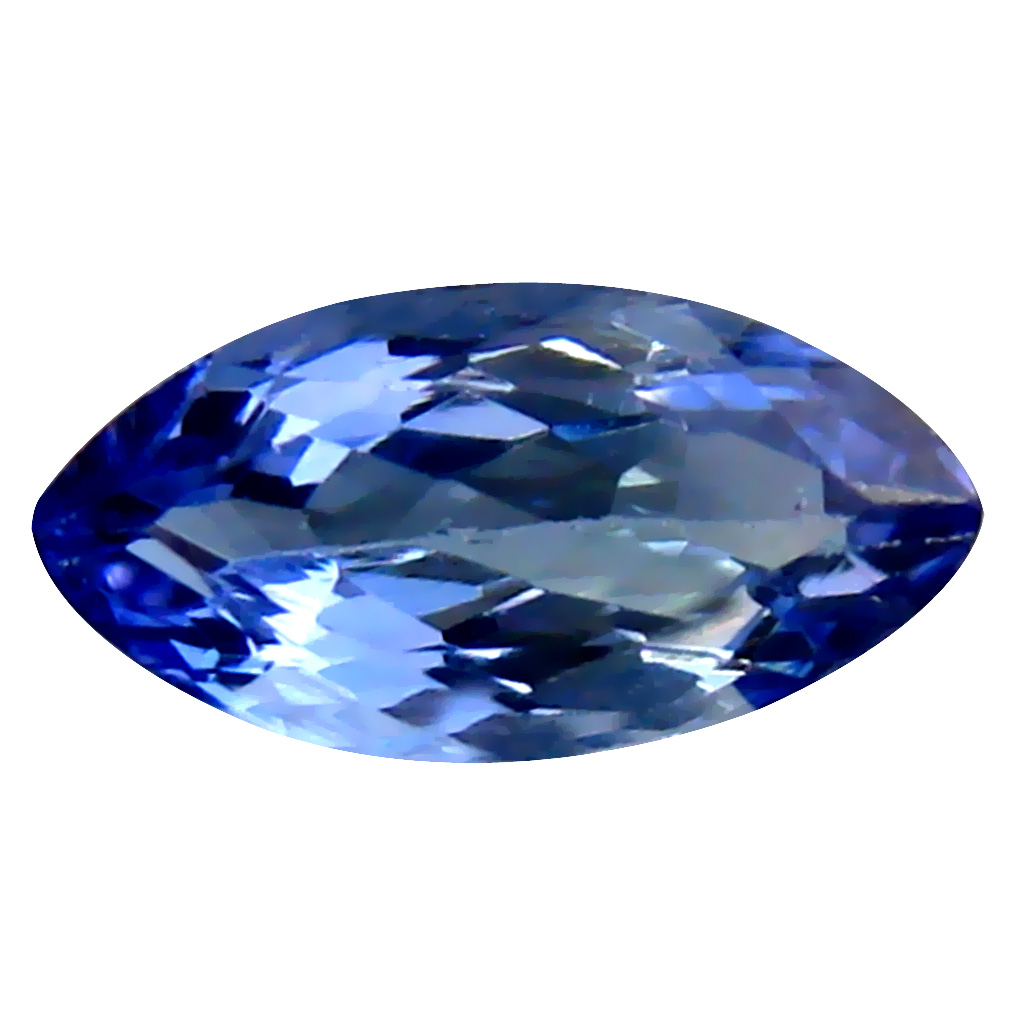 0.78 ct AAA Beautiful Marquise Cut (8 x 4 mm) Bluish Violet Tanzanite Natural Gemstone