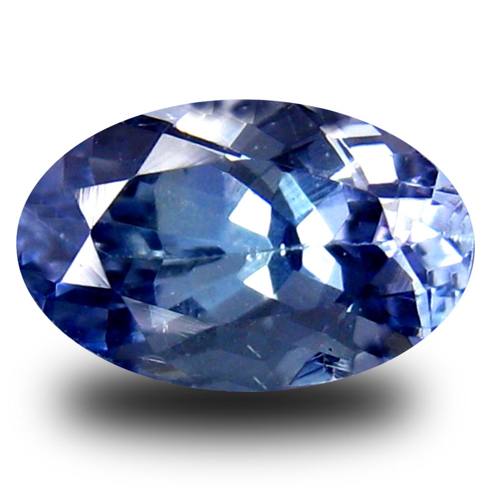 0.85 ct AA+ Great looking Oval Shape (7 x 5 mm) Bluish Violet Tanzanite Natural Gemstone