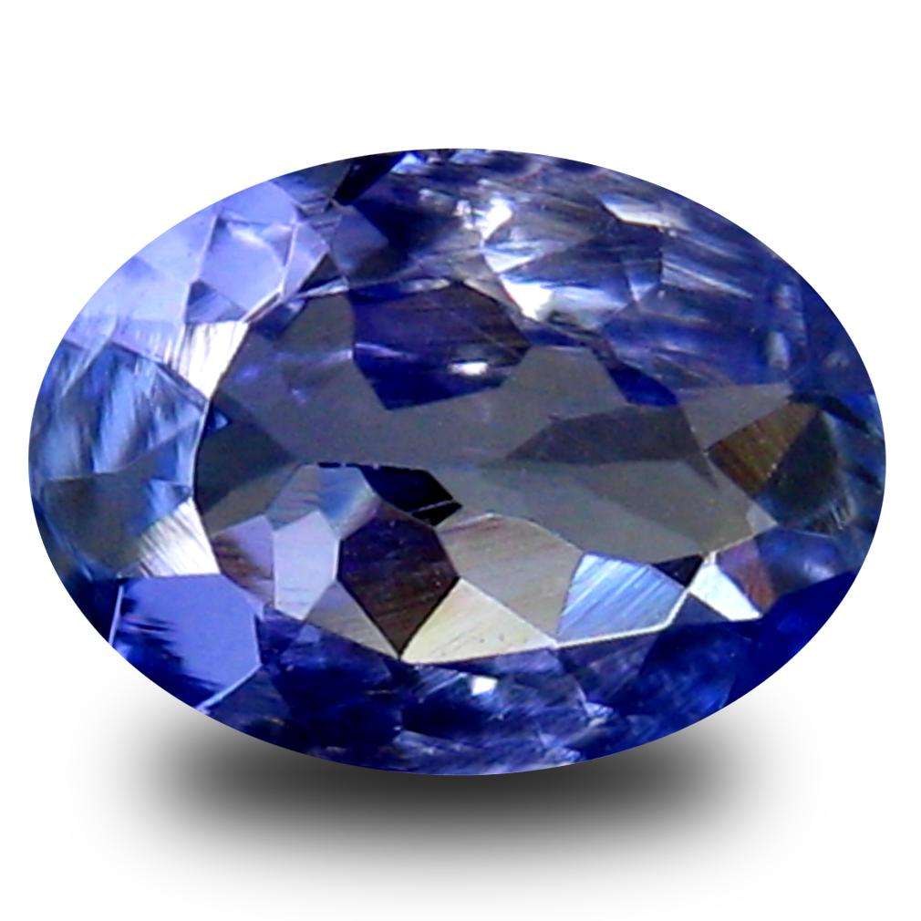 0.60 ct AA+ Stunning Oval Shape (7 x 5 mm) Bluish Violet Tanzanite Natural Gemstone