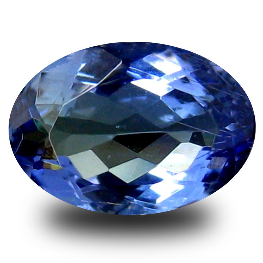 0.60 ct AA+ Charming Oval Shape (6 x 4 mm) Bluish Violet Tanzanite Natural Gemstone