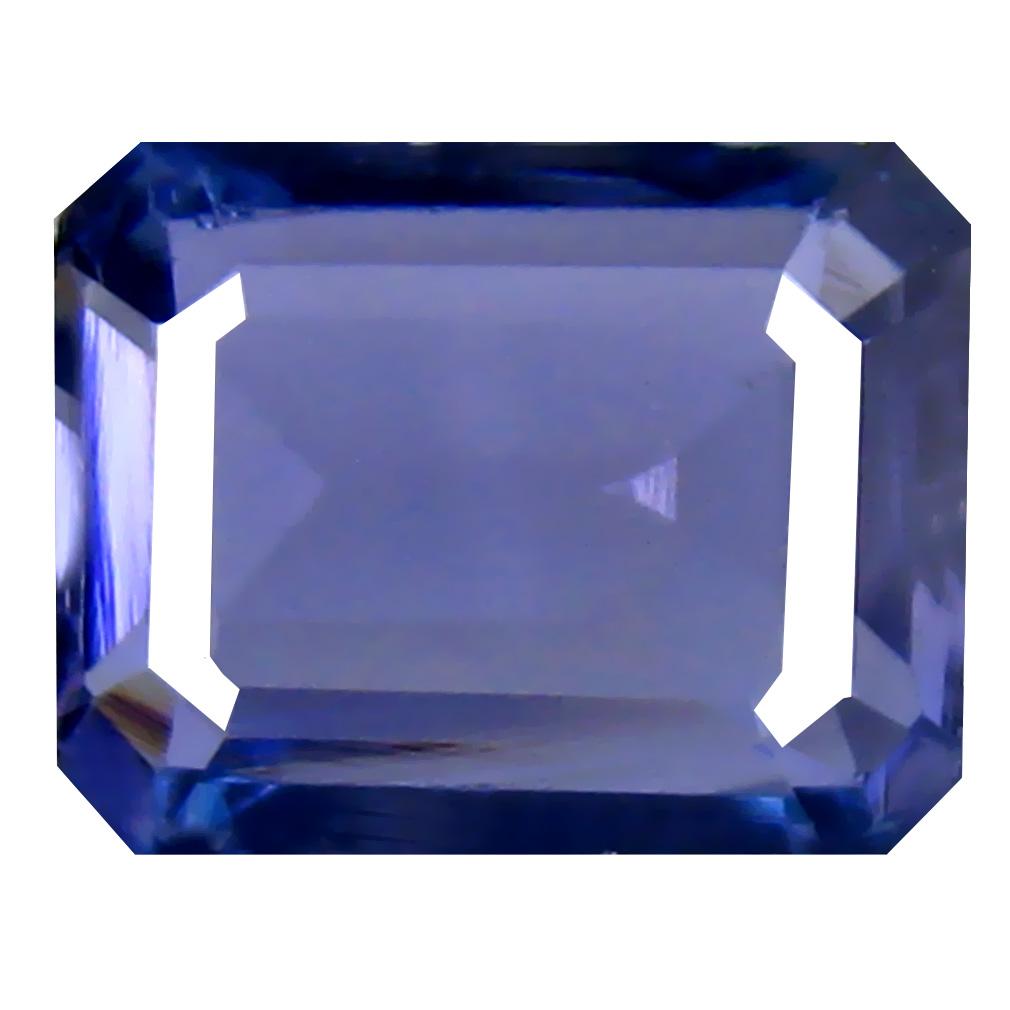 2.42 ct AAA Grade Dazzling Octagon Cut (9 x 7 mm) 100% Natural Bluish Violet Tanzanite Gemstone