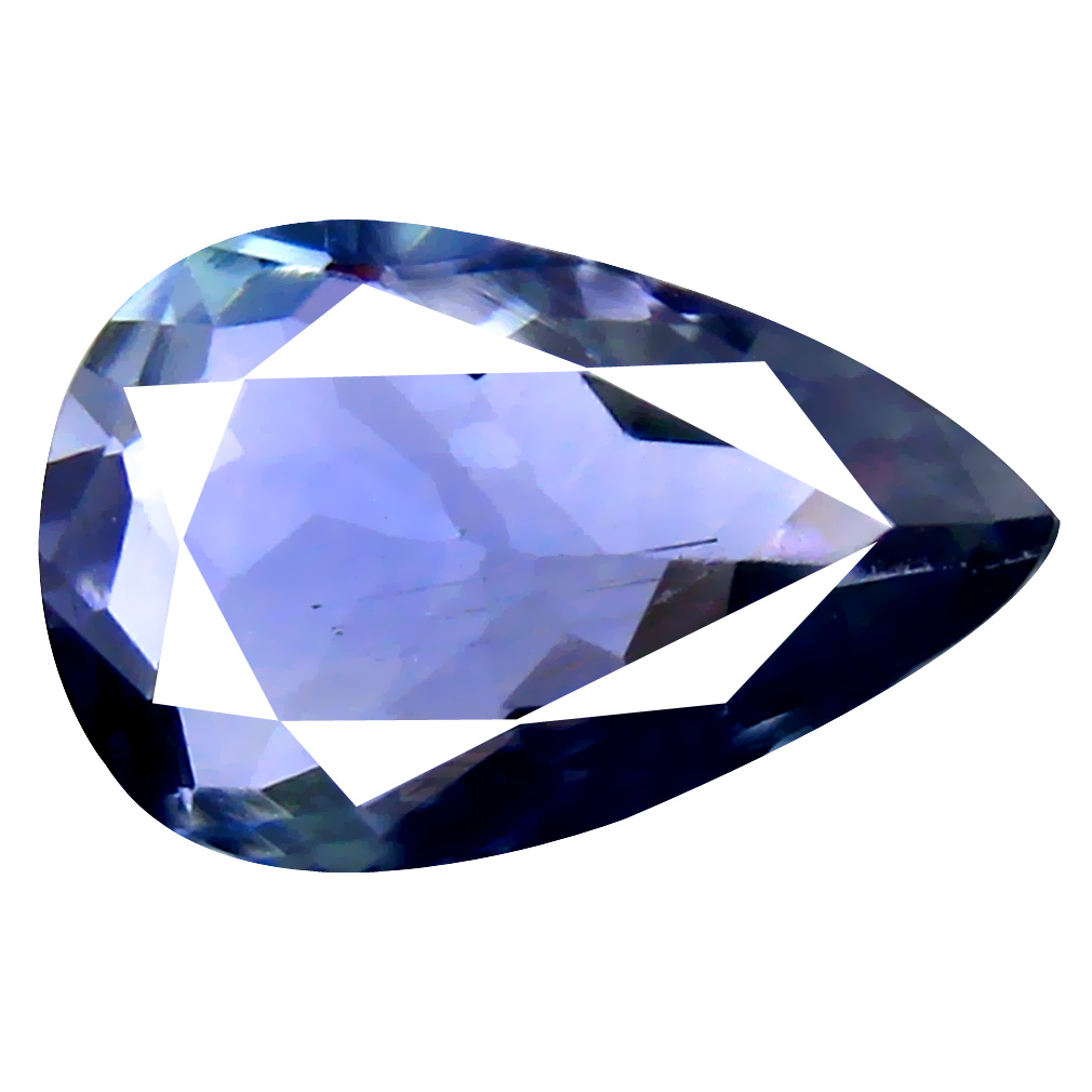 3.22 ct AAA Grade Attractive Pear Cut (12 x 8 mm) 100% Natural Bluish Violet Tanzanite Gemstone