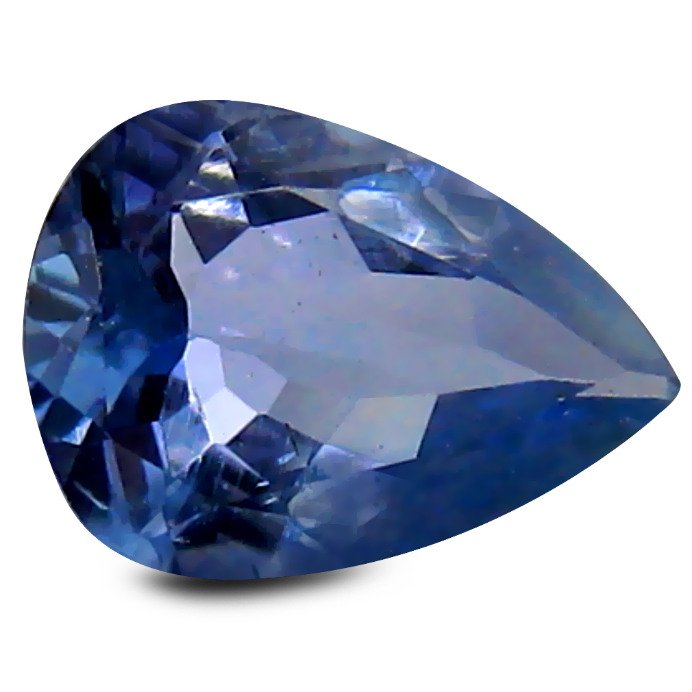 0.53 ct AA+ Grand looking Pear Shape (7 x 5 mm) Bluish Violet Tanzanite Natural Gemstone