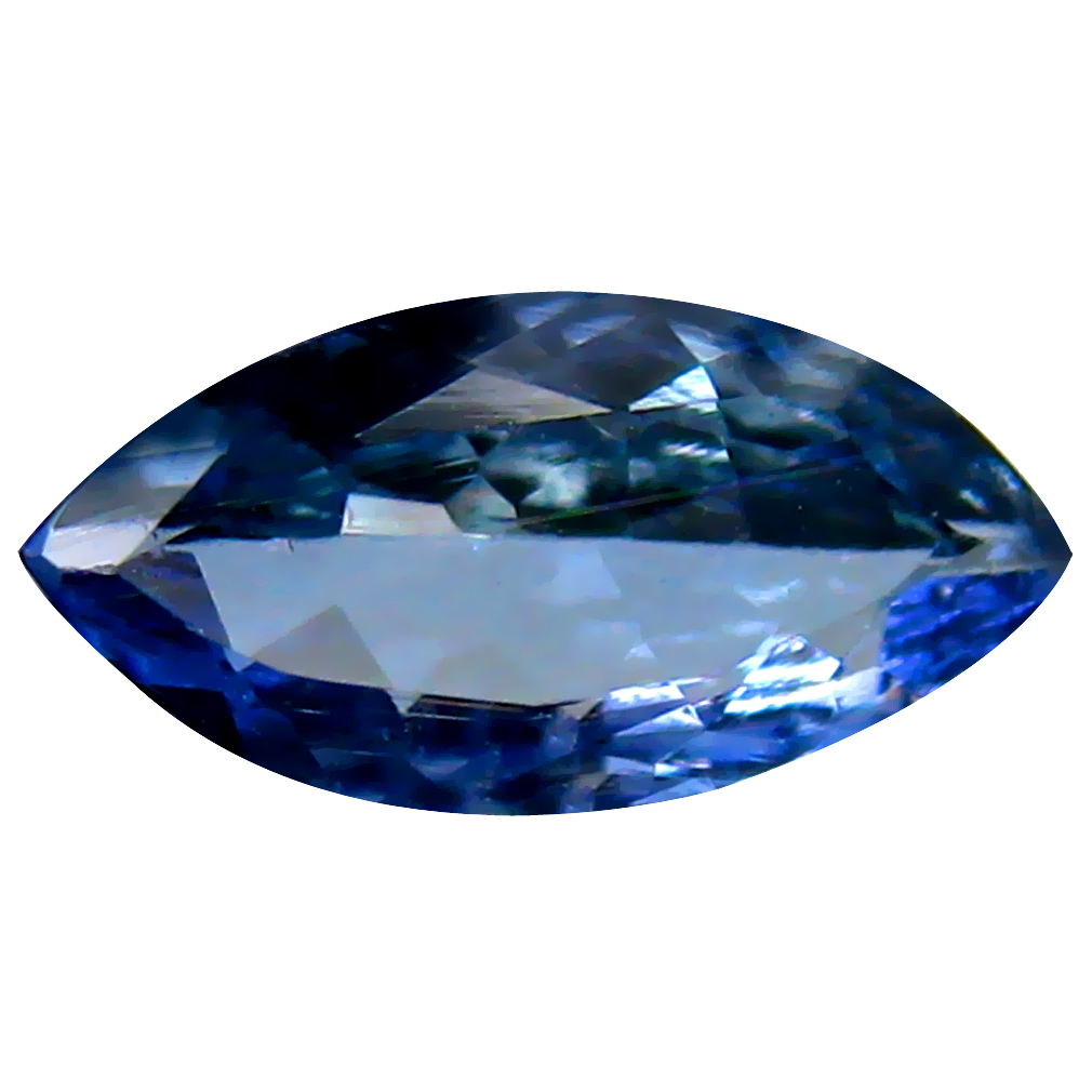 0.69 ct Best Marquise Shape (9 x 4 mm) Bluish Violet Tanzanite Genuine Stone