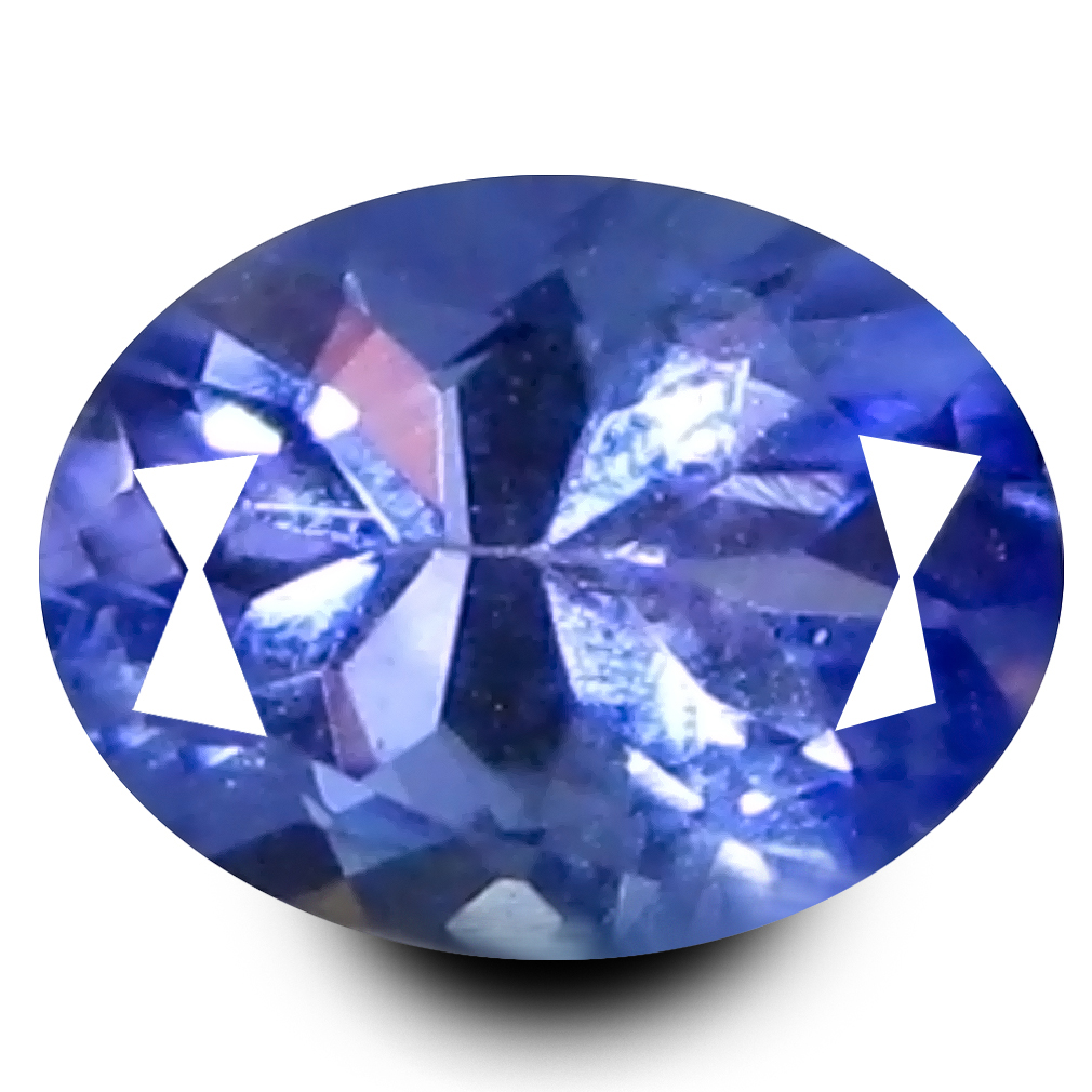 0.55 ct Fair Oval Cut (5 x 4 mm) Purplish Blue Color Natural Tanzanite Natural Gemstone