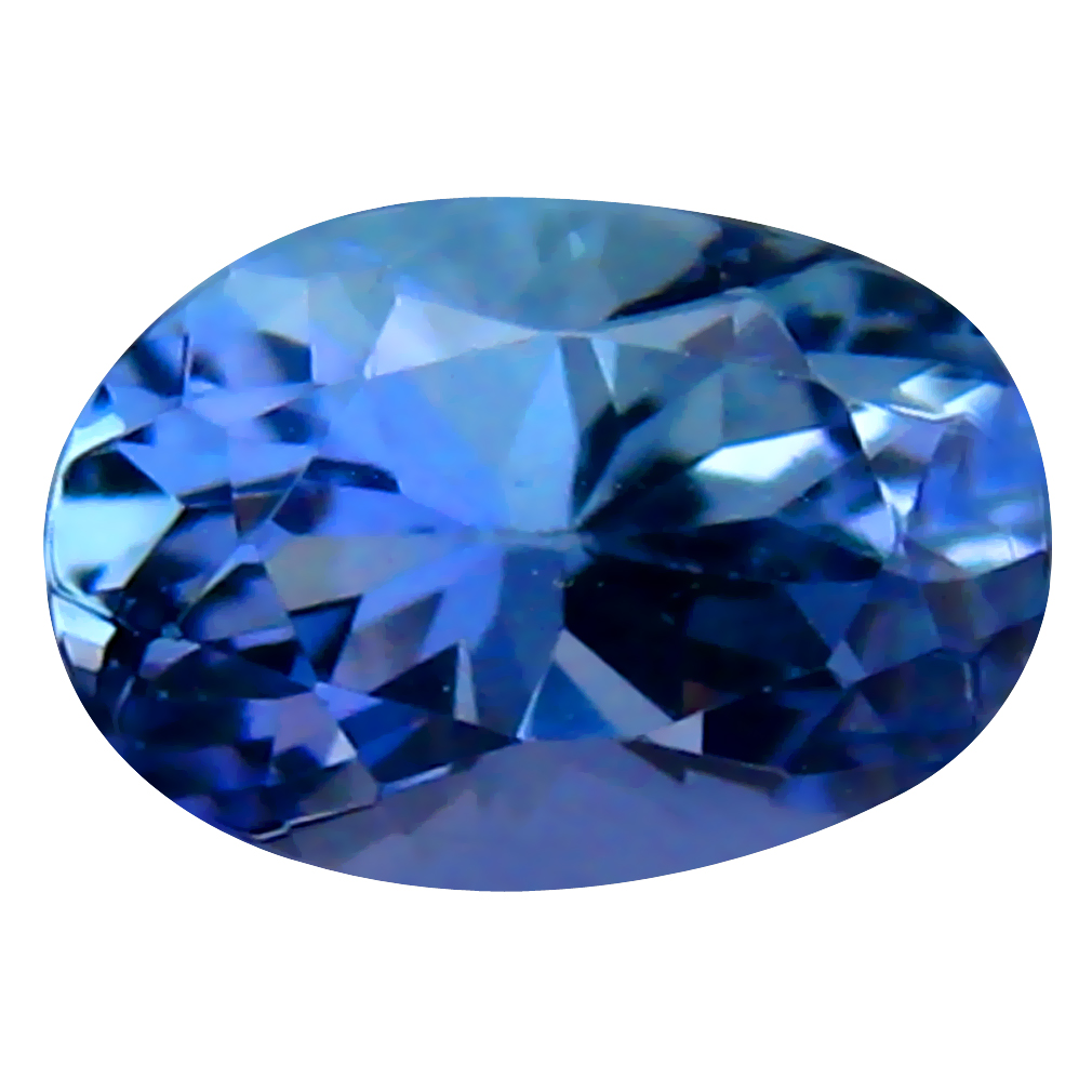 0.78 ct Lovely Oval Shape (7 x 5 mm) Bluish Violet Tanzanite Genuine Stone