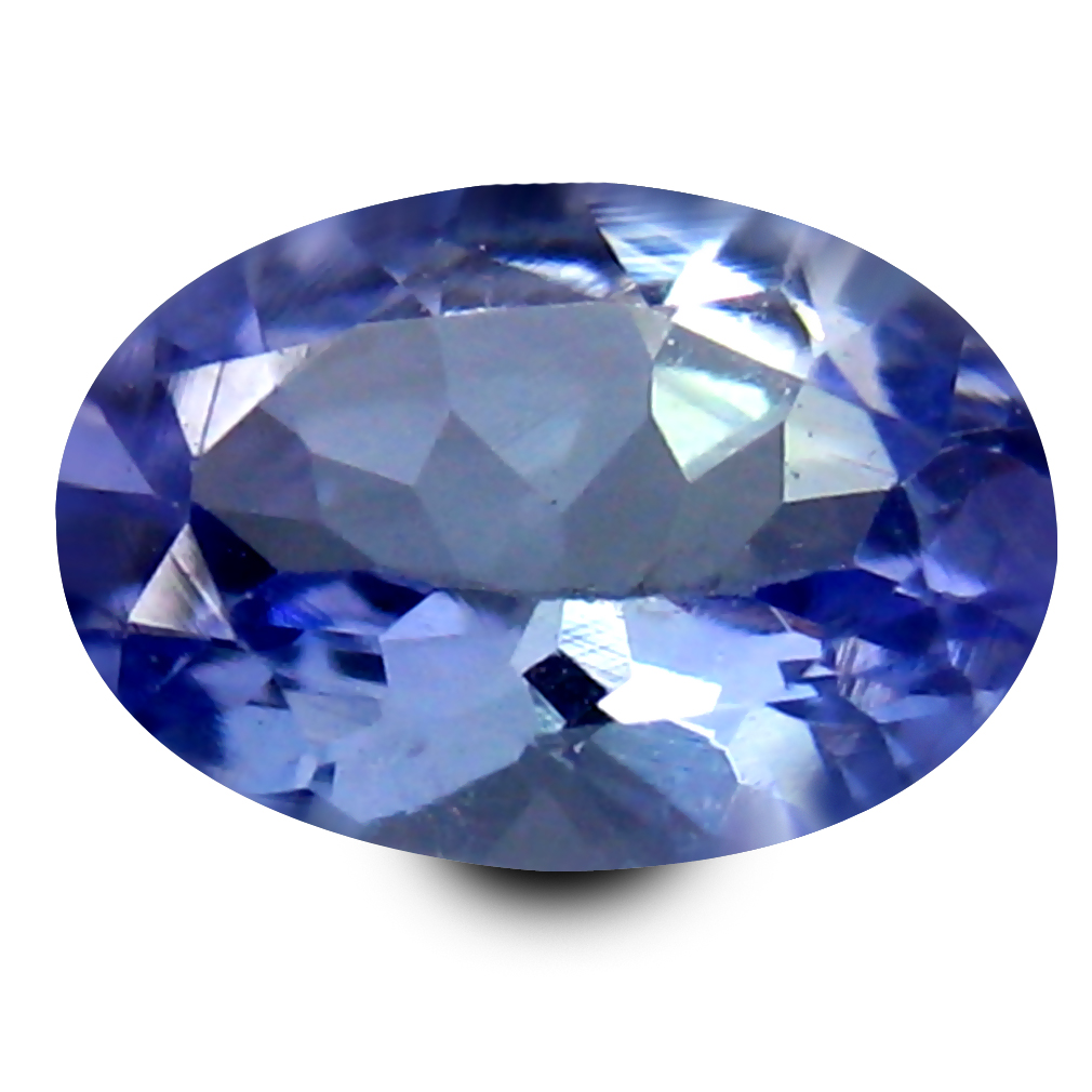 0.52 ct AAA Marvelous Oval Shape (7 x 5 mm) Bluish Violet Tanzanite Natural Gemstone