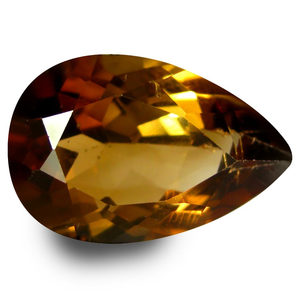 7.57 ct AAA Terrific Pear Shape (15 x 10 mm) Natural Champion Topaz Loose Stone