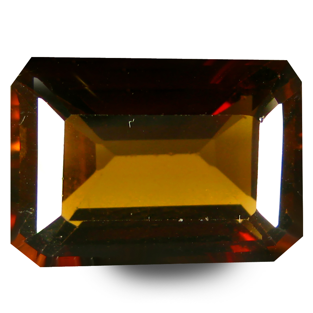 9.48 ct AAA Magnificent fire Octagon Shape (14 x 10 mm) Natural Champion Topaz Loose Stone
