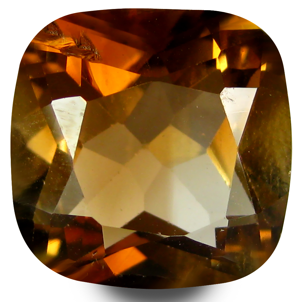 5.80 ct AAA Magnificent Cushion Shape (11 x 11 mm) Natural Champion Topaz Loose Stone