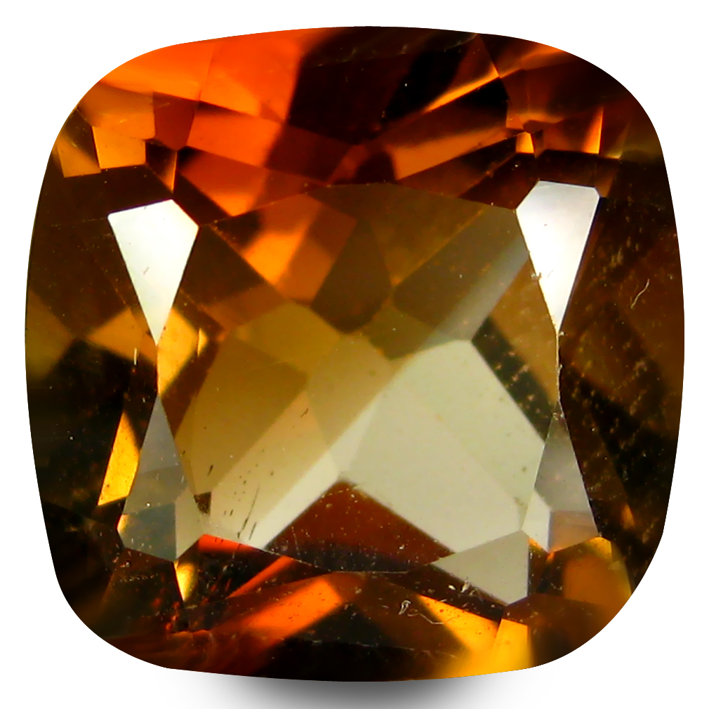 6.58 ct AAA Best Cushion Shape (11 x 11 mm) Natural Champion Topaz Loose Stone