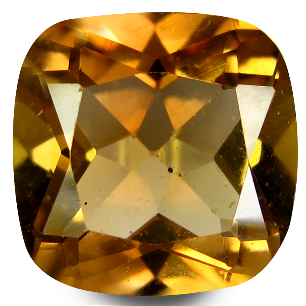 4.47 ct AAA First-class Cushion Shape (10 x 10 mm) Natural Champion Topaz Loose Stone