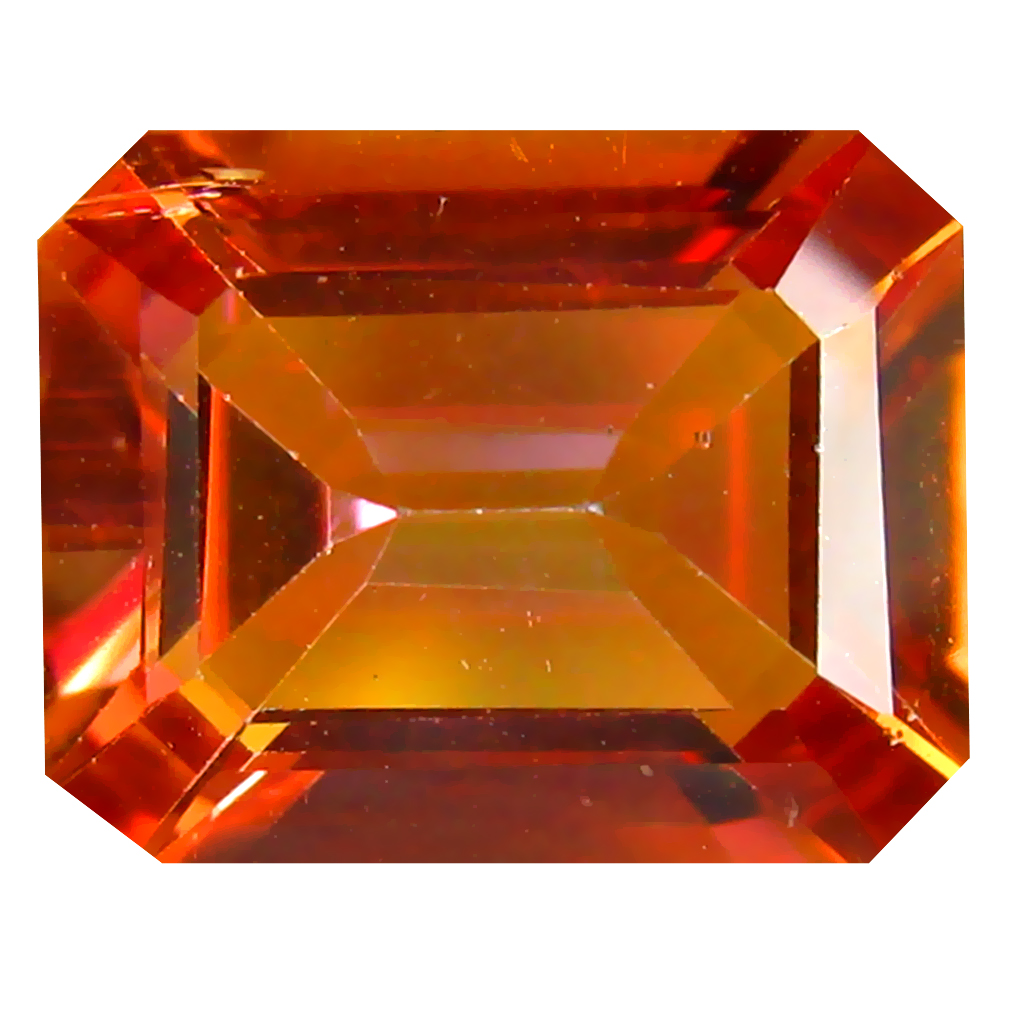 3.62 ct (1 pcs) Valuable Octagon Cut (10 x 8 mm) Multi Color Azotic Ecstacy Topaz Natural Gemstone