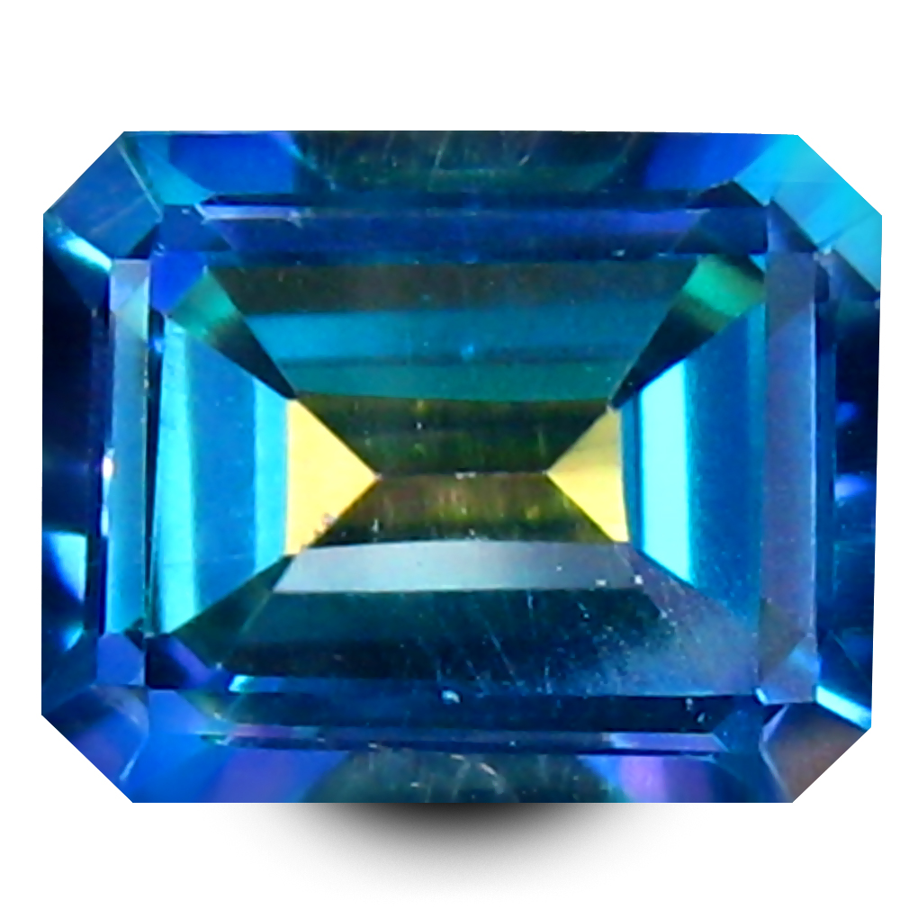 3.08 ct AAA+ Spectacular Octagon Shape (9 x 7 mm) Natural Trendy Solo Topaz Loose Stone