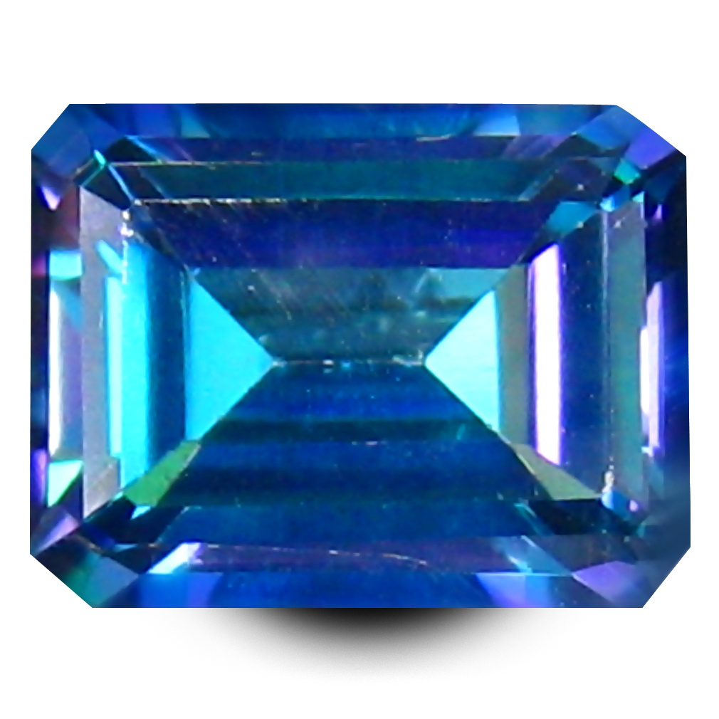 2.96 ct AAA+ Grand looking Octagon Shape (9 x 7 mm) Natural Trendy Solo Topaz Loose Stone