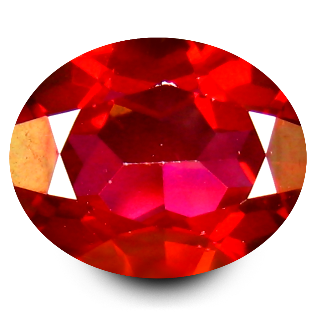 3.49 ct AAA+ Superb Oval Shape (10 x 8 mm) Natural Crimson Red Topaz Loose Stone