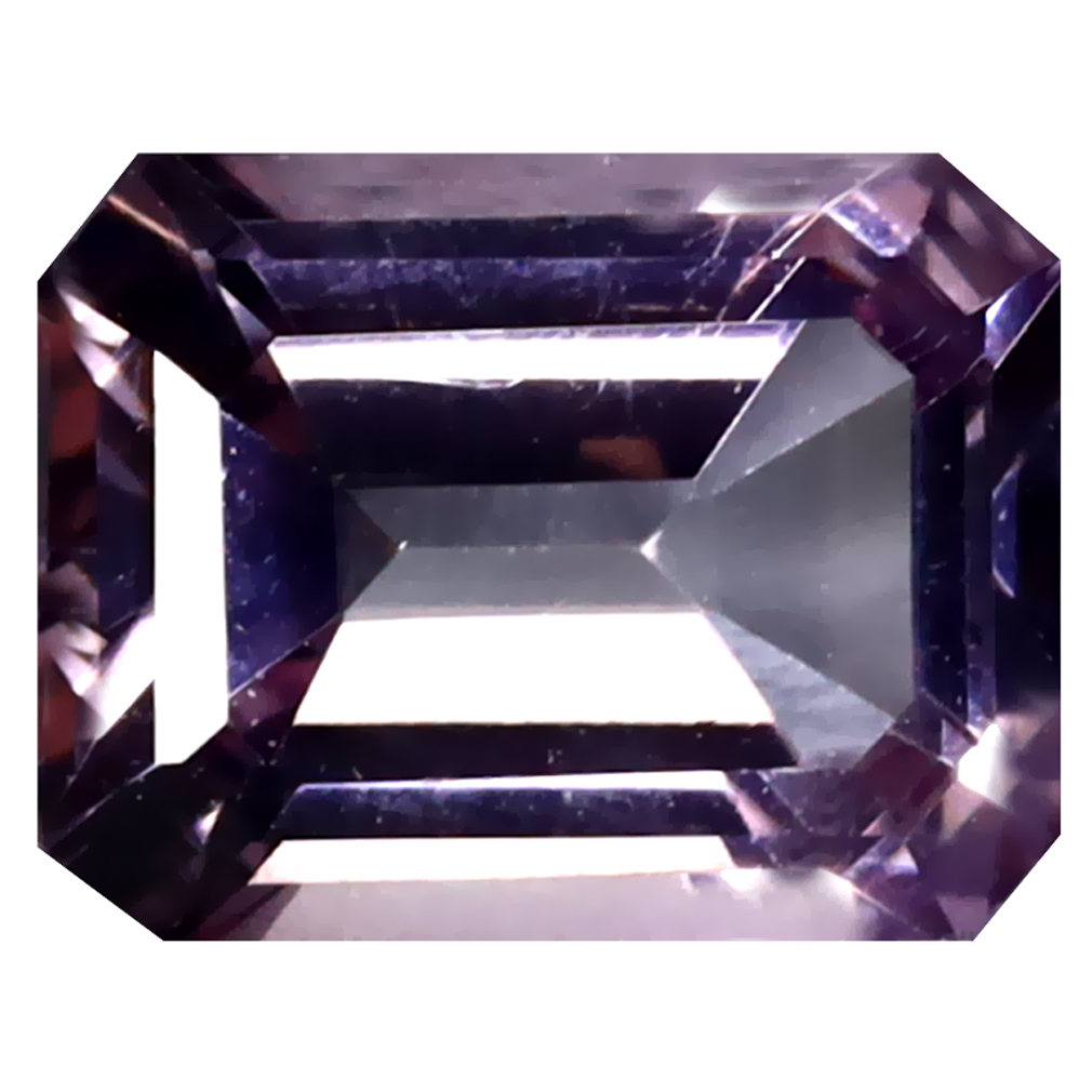 2.80 ct Mind-Boggling Octagon Cut (9 x 7 mm) United States Peach Pink Morganite Pink Topaz Natural Gemstone