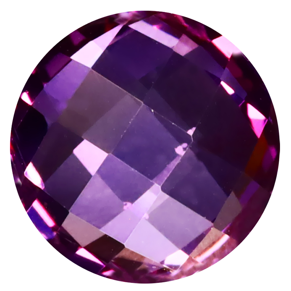 5.41 ct Wonderful Round Cut (11 x 11 mm) United States Purplish Pink Lilac Orchid Topaz Natural Gemstone