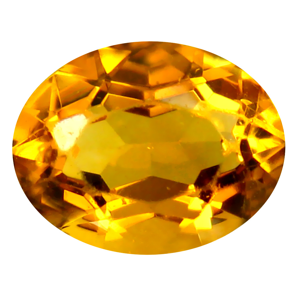 2.40 ct Romantic Oval Cut (10 x 8 mm) Un-Heated Golden Yellow Citrine Natural Gemstone