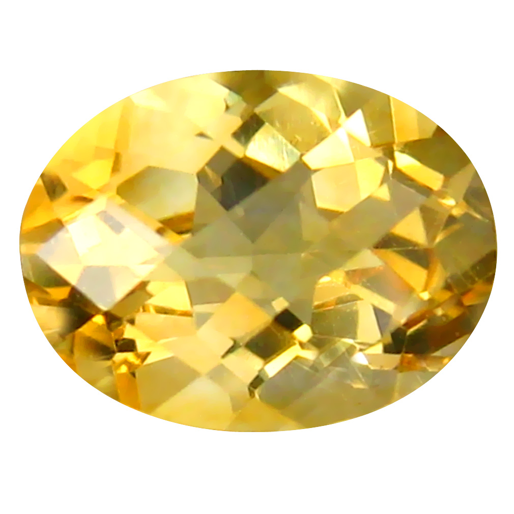 1.16 ct Stunning Oval Cut (8 x 6 mm) Un-Heated Golden Yellow Citrine Natural Gemstone