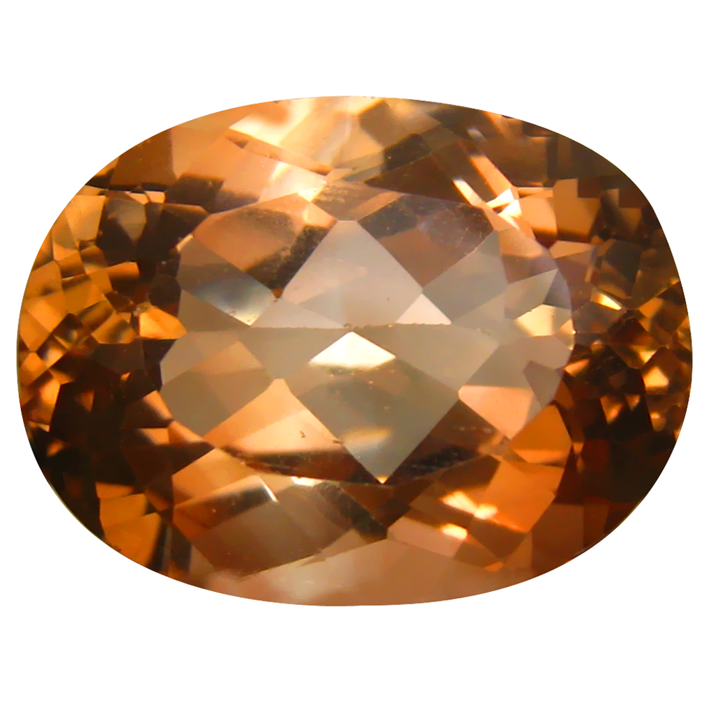 16.20 ct AAA Incredible Oval Shape (18 x 13 mm) Champagne Champion Topaz Natural Gemstone