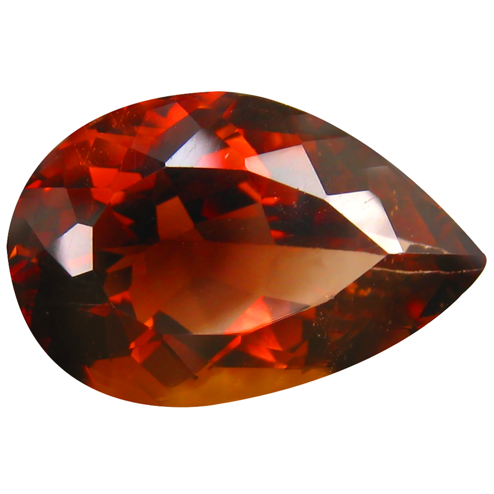 15.90 ct AAA Good-looking Pear Shape (20 x 13 mm) Champagne Champion Topaz Natural Gemstone