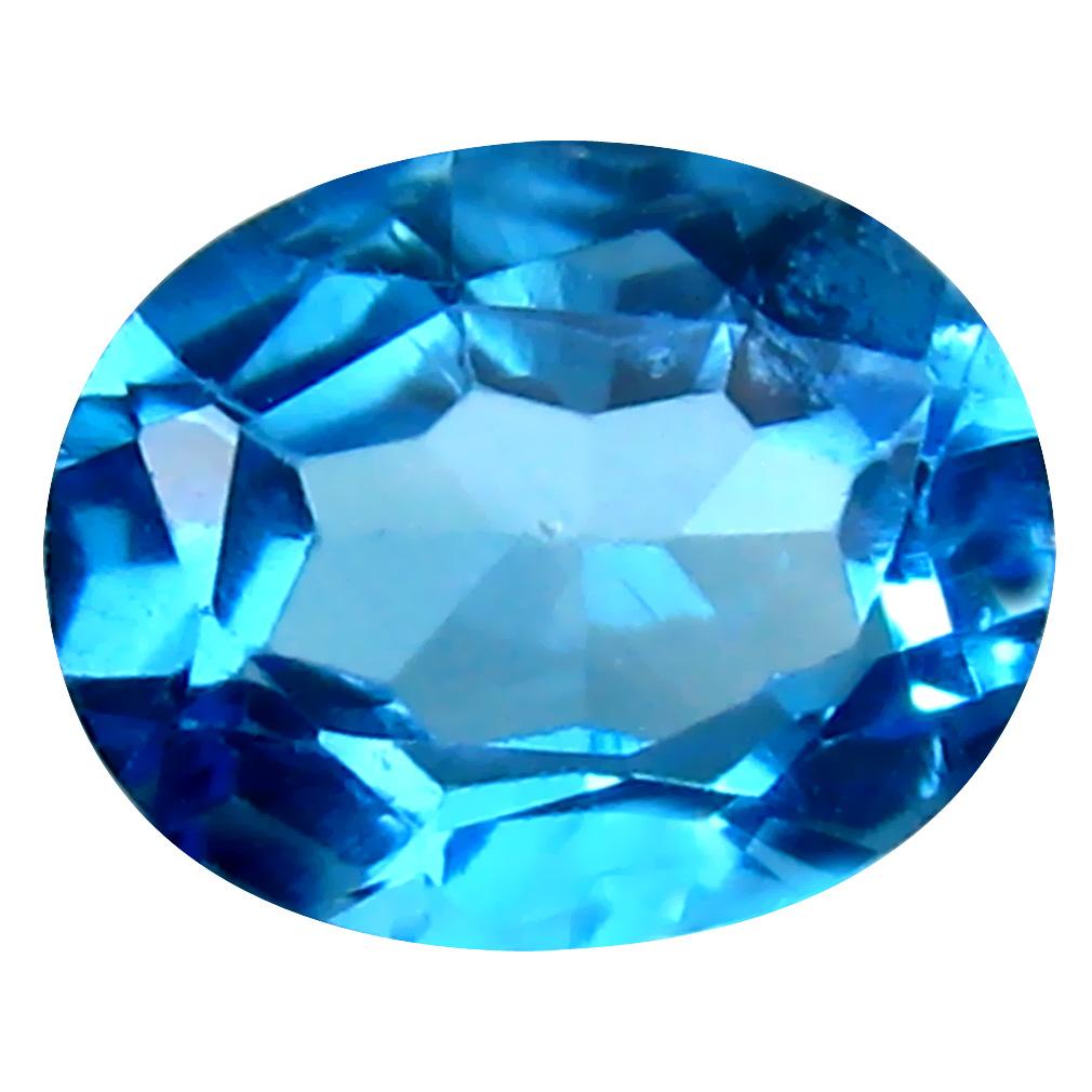 3.19 ct Wonderful Oval Cut (10 x 8 mm) Brazil Blue Topaz Natural Gemstone