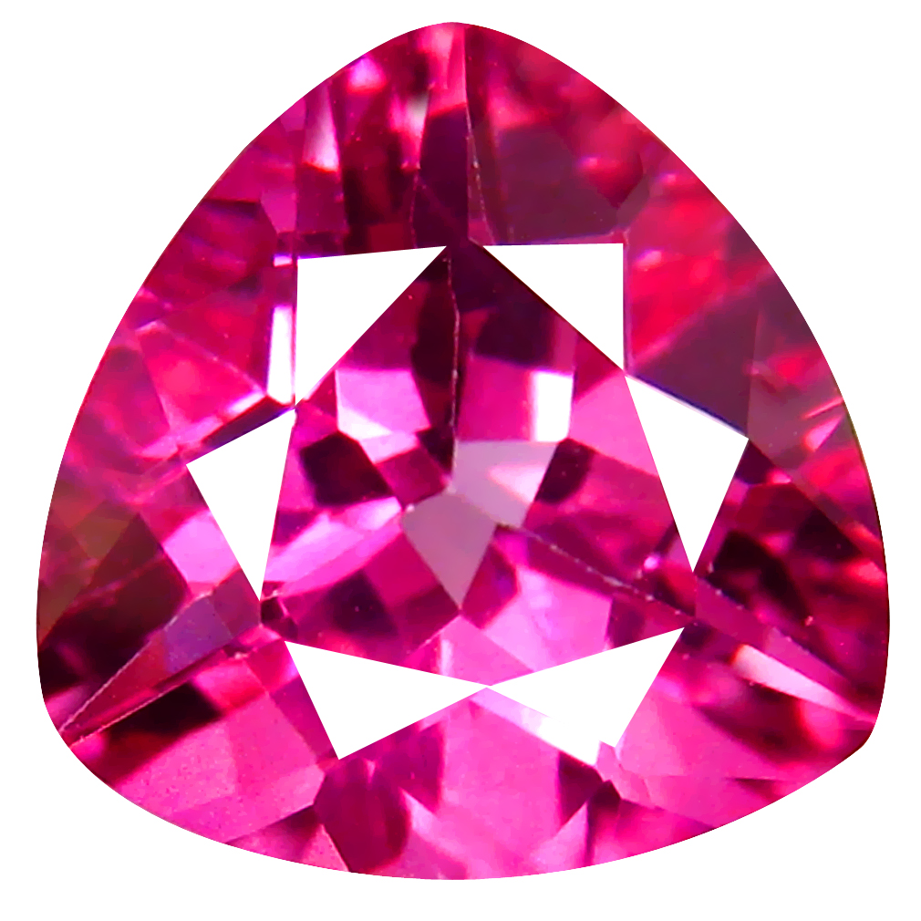 4.30 ct AAA Beautiful Triangle Shape (10 x 10 mm) Natural Pink Topaz Loose Stone
