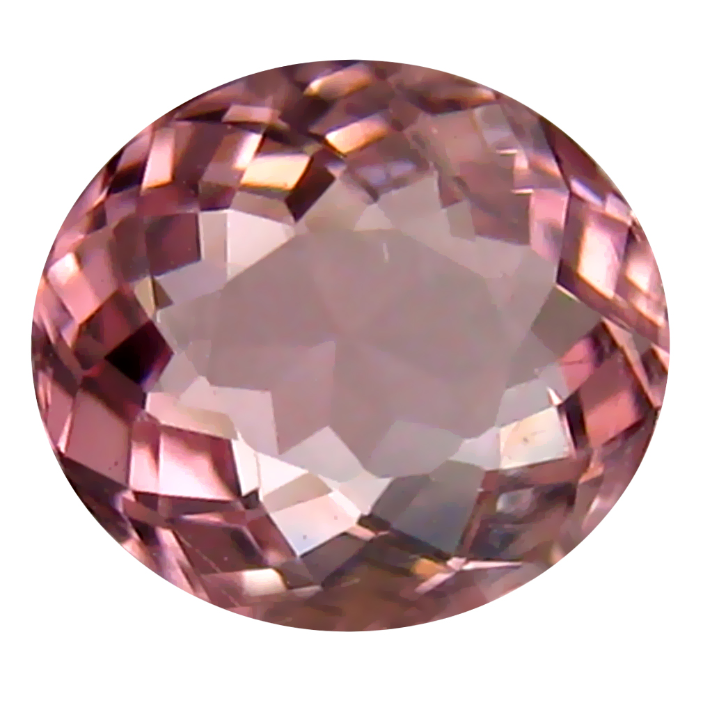 0.94 ct AAA Outstanding Oval Shape (7 x 6 mm) Natural Pink Tourmaline Loose Stone