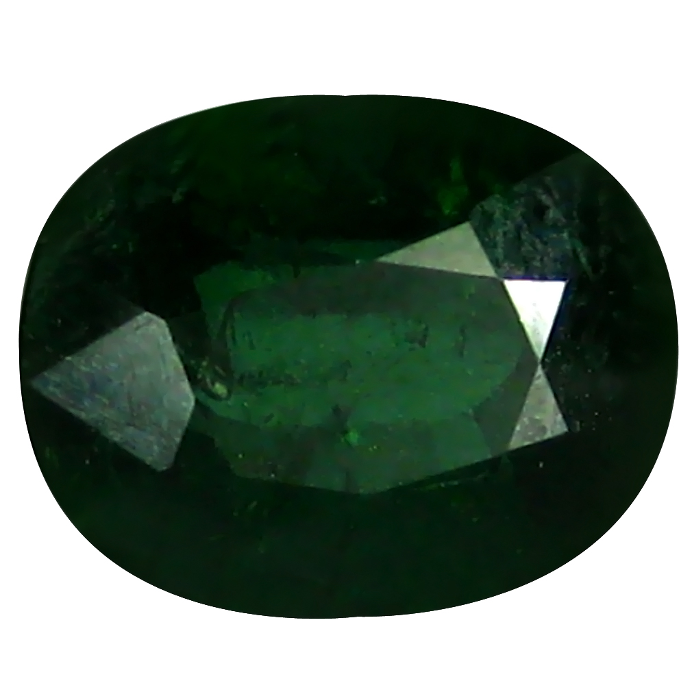 2.34 ct Excellent Oval (9 x 7 mm) Un-Heated Mozambique Green Tourmaline Loose Gemstone