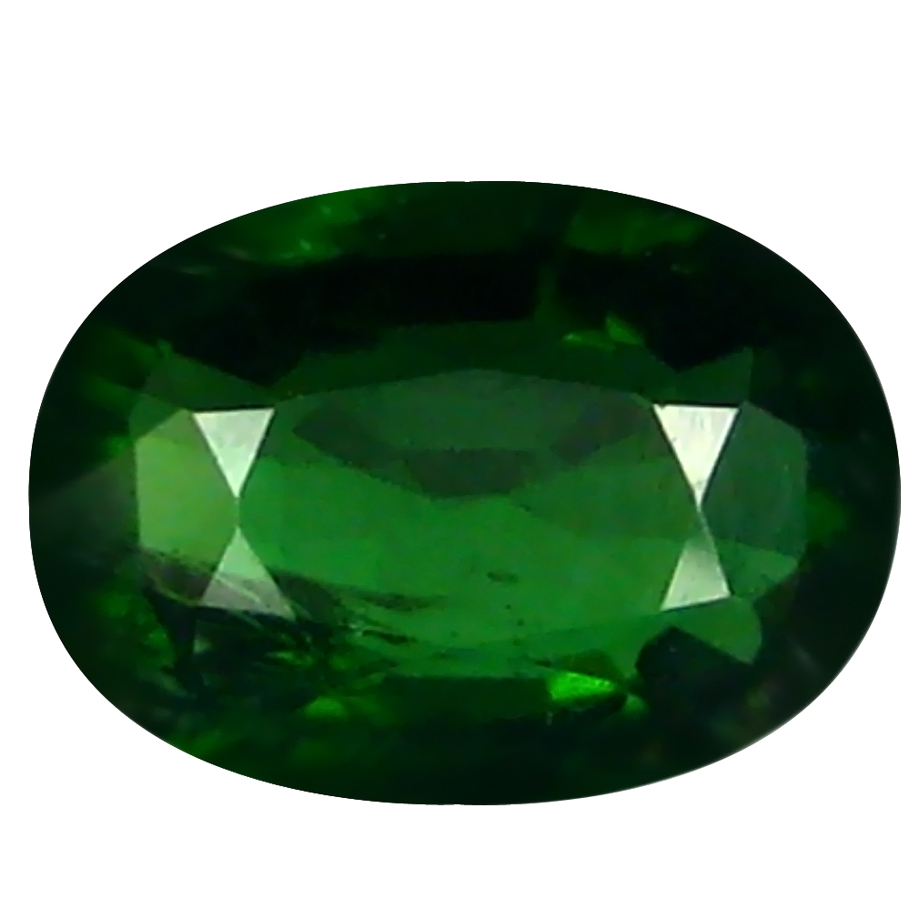 1.59 ct Incredible Oval (9 x 7 mm) Un-Heated Mozambique Green Tourmaline Loose Gemstone