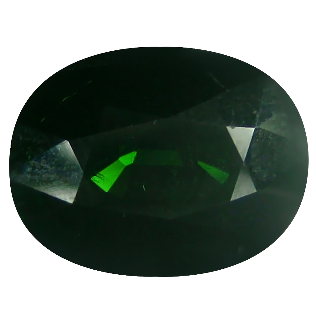5.27 ct Valuable Oval (12 x 9 mm) Un-Heated Mozambique Green Tourmaline Loose Gemstone