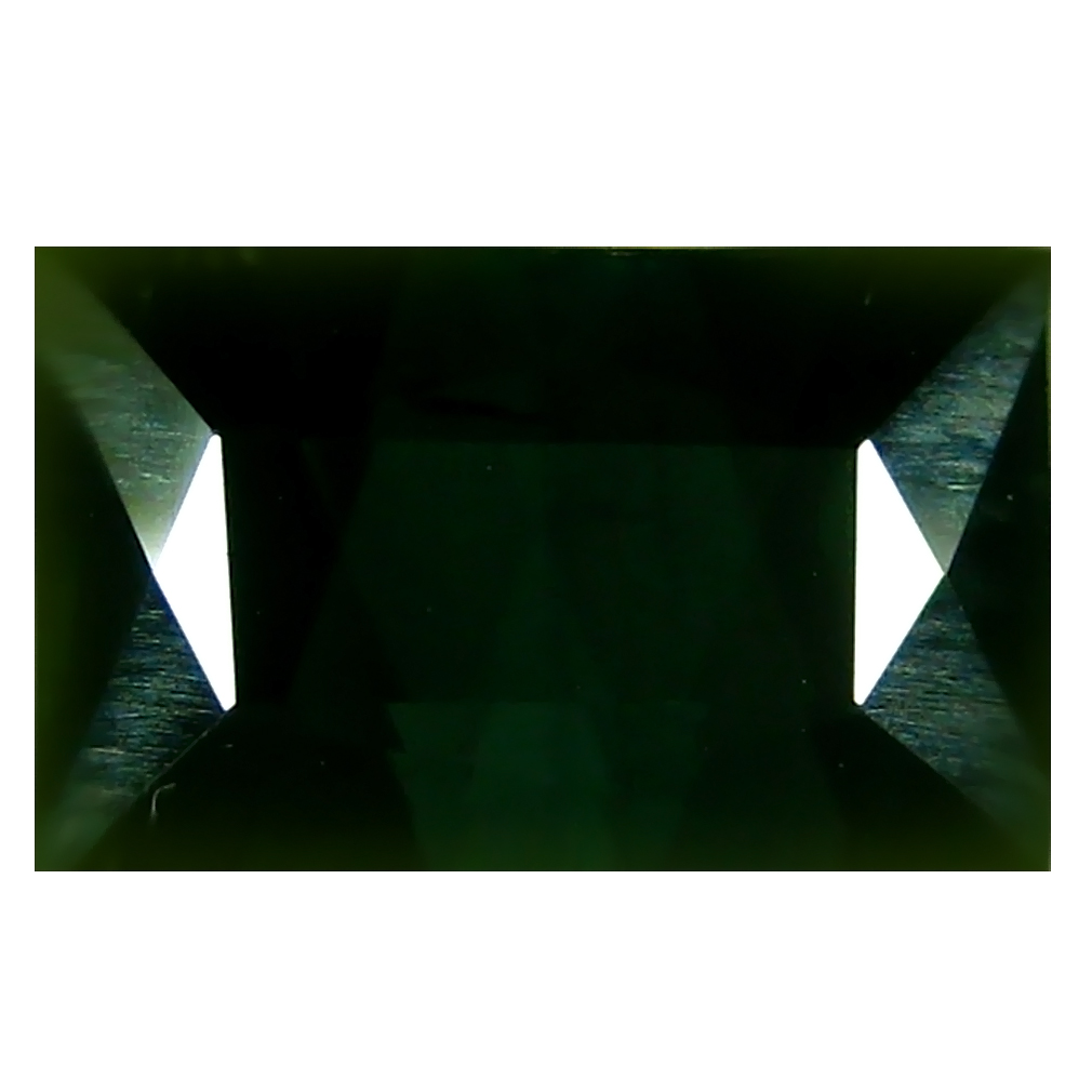 5.95 ct Astonishing Rectangular (12 x 7 mm) Un-Heated Mozambique Green Tourmaline Loose Gemstone