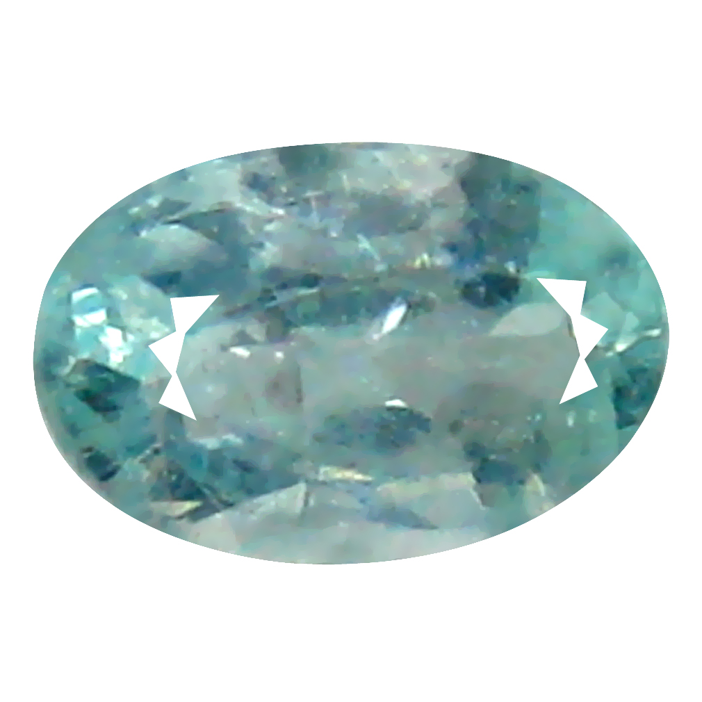 0.26 ct LOVELY OVAL CUT (5 X 3 MM) COPPER BEARING PARAIBA TOURMALINE NATURAL LOOSE GEMSTONE