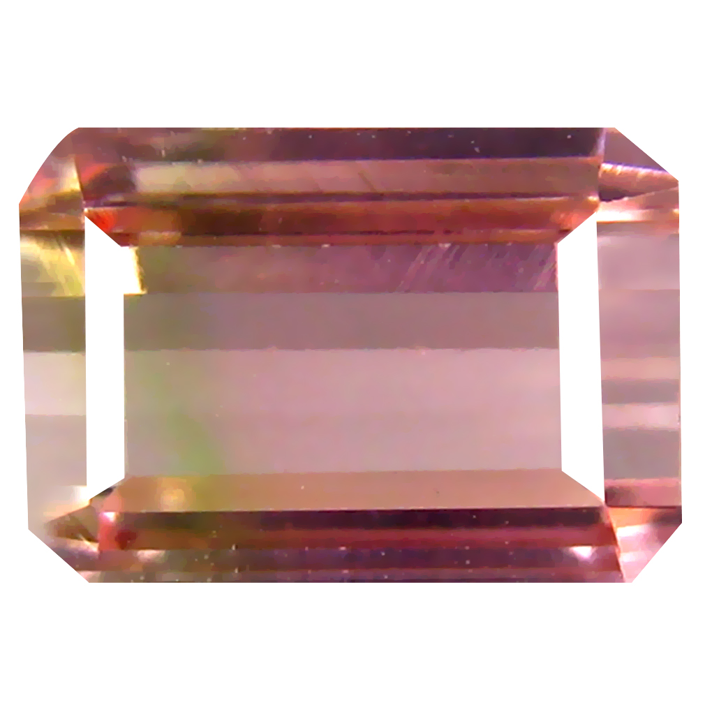 2.19 ct Supreme Octagon Cut (9 x 6 mm) Un-Heated Pink Tourmaline Natural Gemstone