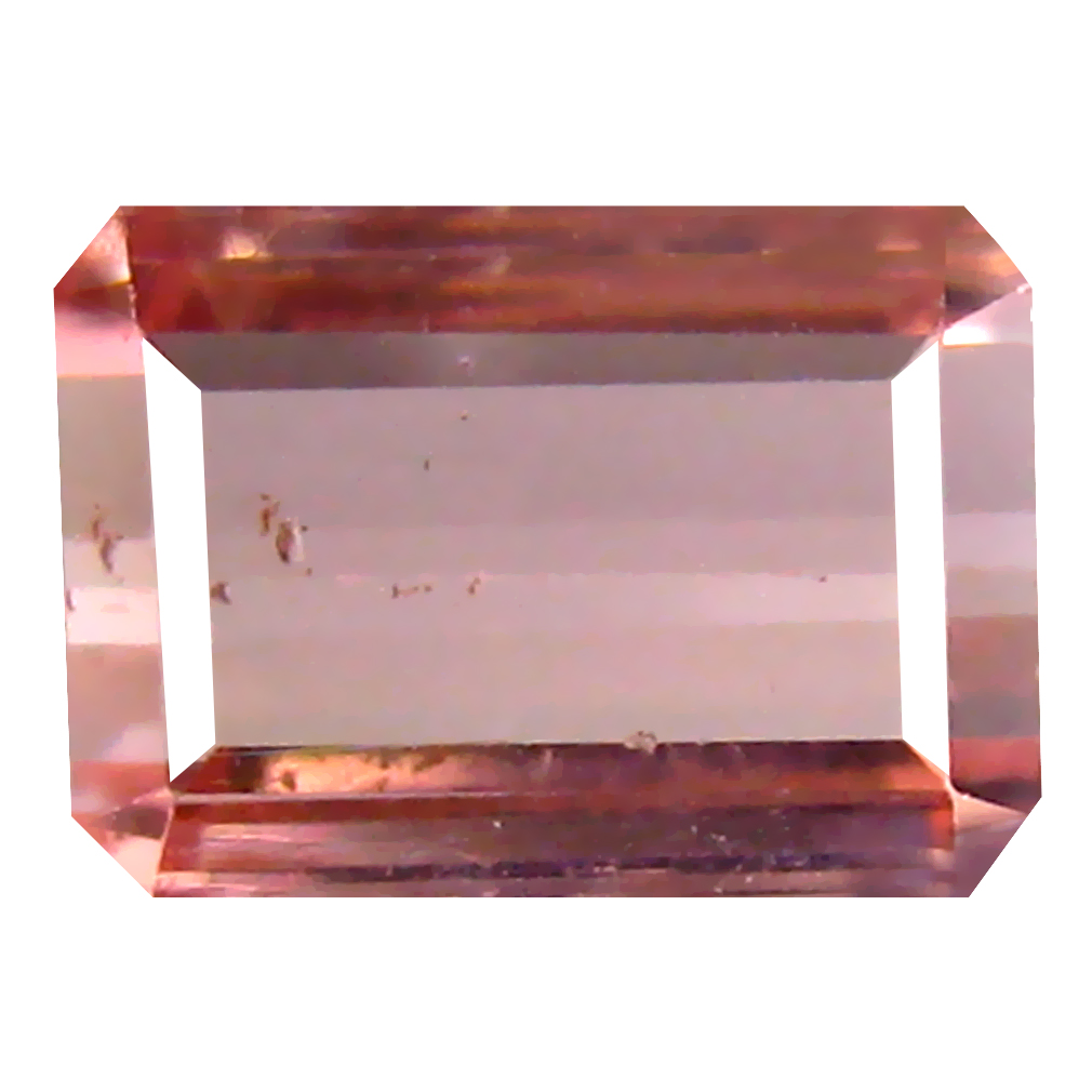 1.77 ct Super-Excellent Octagon Cut (8 x 6 mm) Un-Heated Pink Tourmaline Natural Gemstone