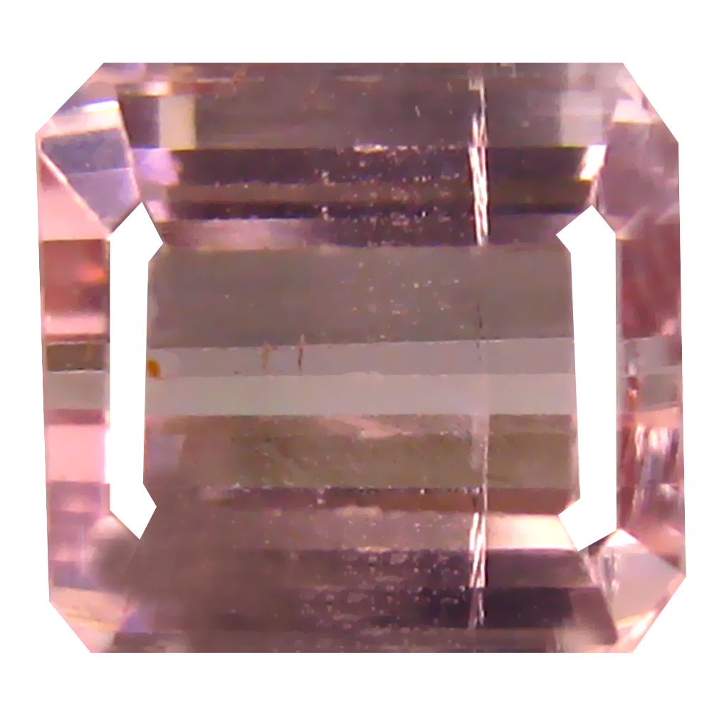2.83 ct Flashing Octagon Cut (7 x 7 mm) Un-Heated Pink Tourmaline Natural Gemstone