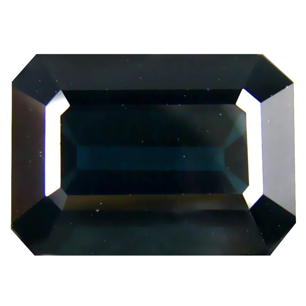 5.44 ct  Supreme Octagon Shape (11 x 8 mm) Natural Indicolite Blue Tourmaline Loose Stone