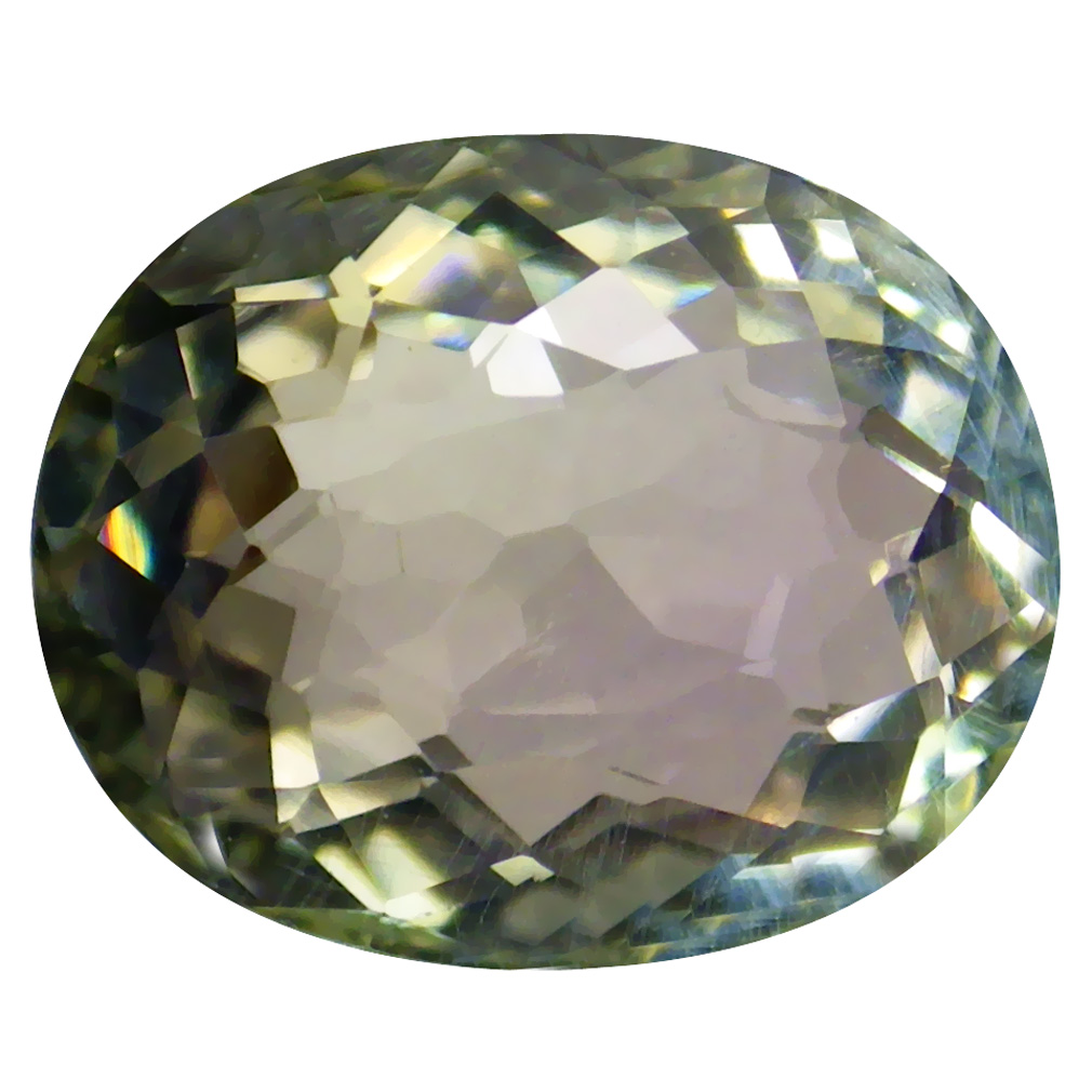 1.86 ct OUTSTANDING OVAL CUT (9 X 7 MM) MOZAMBIQUE BI COLOR TOURMALINE NATURAL GEMSTONE
