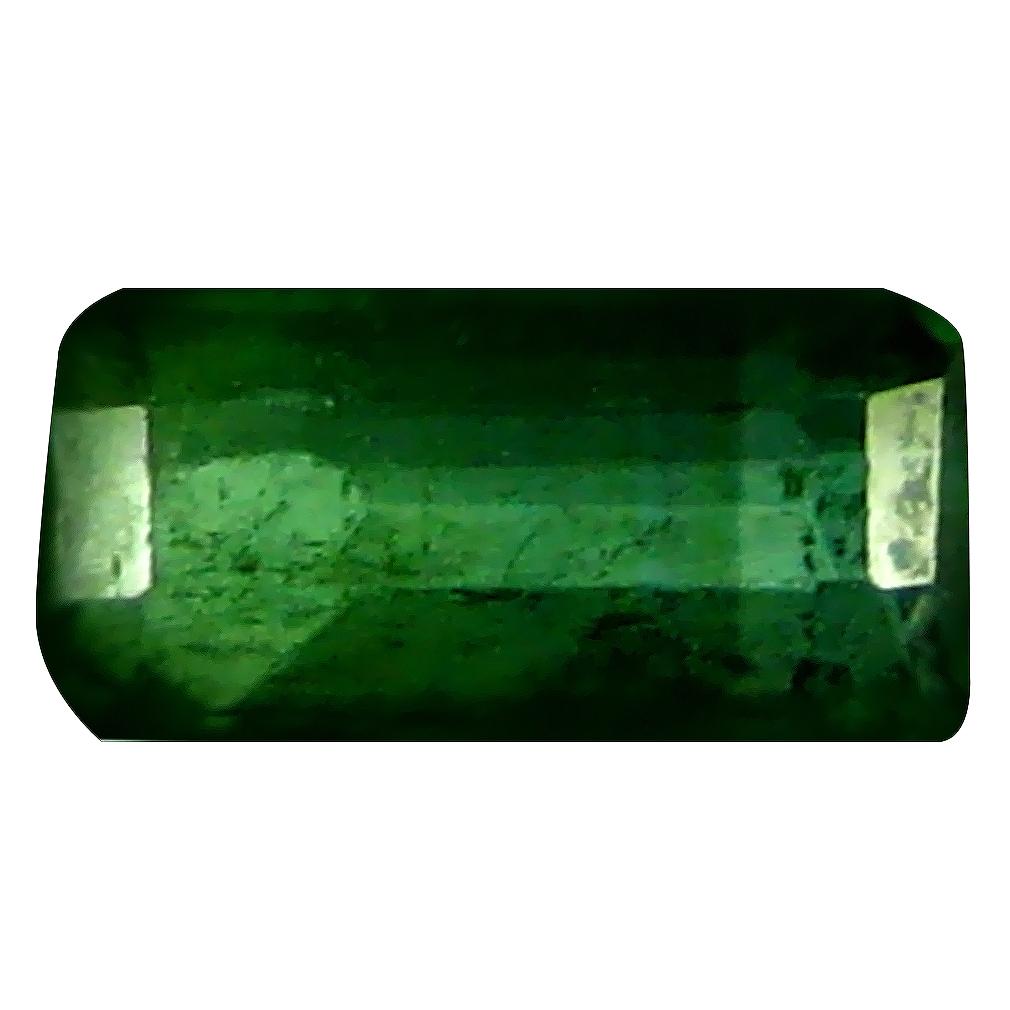 0.47 ct Unbelievable Octagon (6 x 3 mm) Un-Heated Mozambique Green Tourmaline Loose Gemstone