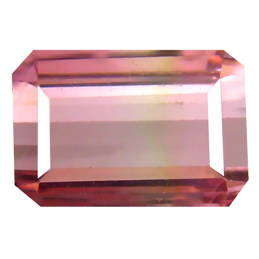 2.74 ct Marvelous Octagon Cut (9 x 6 mm) Un-Heated Pink Tourmaline Natural Gemstone