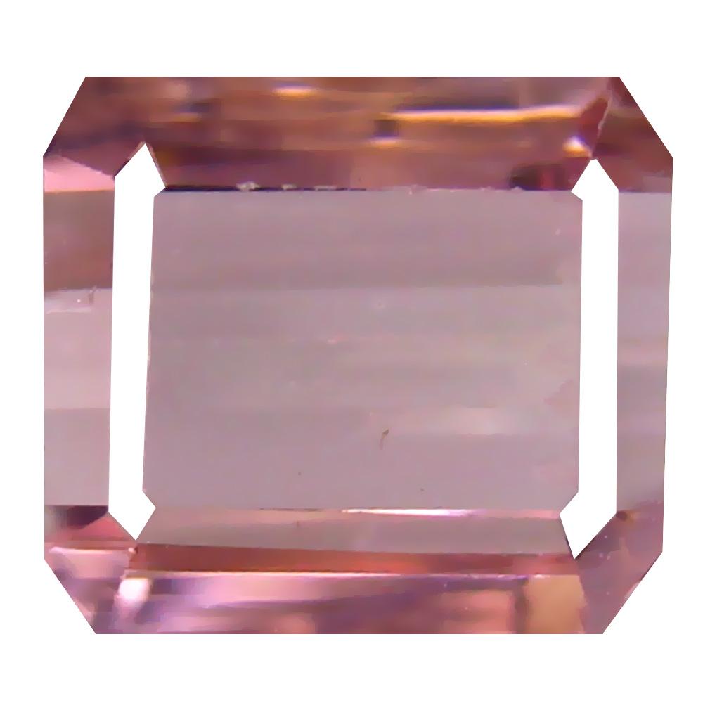 3.19 ct Resplendent Octagon Cut (8 x 8 mm) Un-Heated Pink Tourmaline Natural Gemstone