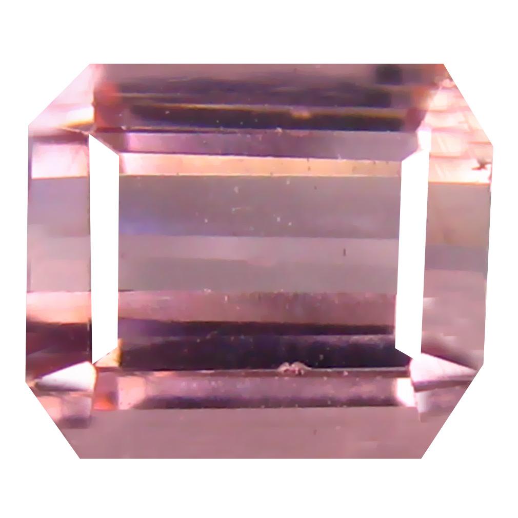 2.15 ct Gorgeous Octagon Cut (8 x 7 mm) Un-Heated Pink Tourmaline Natural Gemstone
